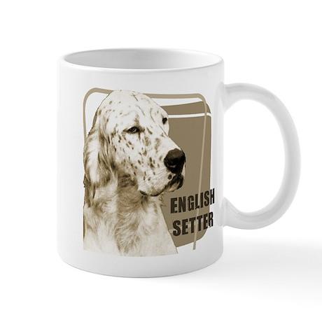 English Setter Vintage Mug