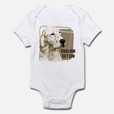 English Setter Vintage Infant Bodysuit