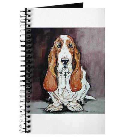 Basset Hound Portrait Journal