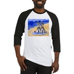 SCHNAUZER beach Design Baseball Jersey