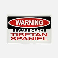 TIBETAN SPANIEL Rectangle Magnet