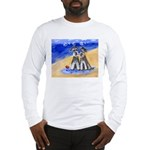 SCHNAUZER beach Design Long Sleeve T-Shirt