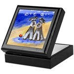 SCHNAUZER beach Design Keepsake Box