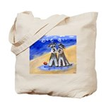 SCHNAUZER beach Design Tote Bag