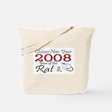 2008 Rat Tote Bag