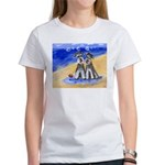 SCHNAUZER beach Design Women's T-Shirt