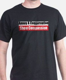 Show Compassion Ash Grey T-Shirt