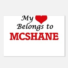 My Heart belongs to Mcsha Postcards (Package of 8)