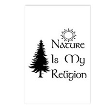 Nature Is My Religion Postcards (Package of 8)