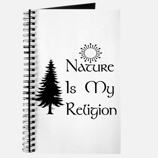 Nature Is My Religion Journal