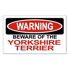 YORKSHIRE TERRIER Rectangle Decal
