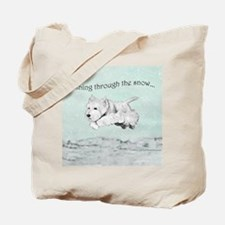 Westhighland Terrier Holiday Tote Bag