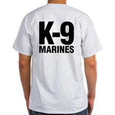 MWD K-9 MARINES T-Shirt