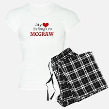 My Heart belongs to Mcgraw Pajamas
