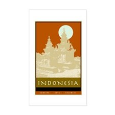 Indonesia Rectangle Decal