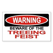 TREEING FEIST Rectangle Decal