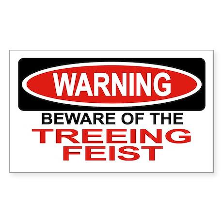 TREEING FEIST Rectangle Sticker