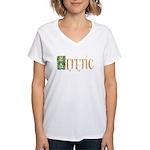 heretic Women's V-Neck T-Shirt