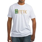 heretic Fitted T-Shirt
