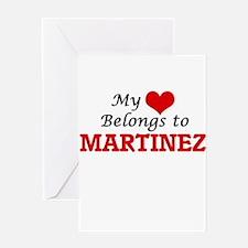 My Heart belongs to Martinez Greeting Cards