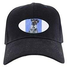 SCHNAUZER portrait Design Baseball Hat