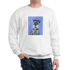 SCHNAUZER portrait Design Sweatshirt