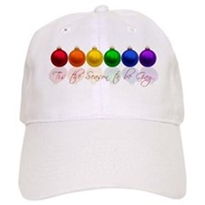 Tis the season to be gay Baseball Cap