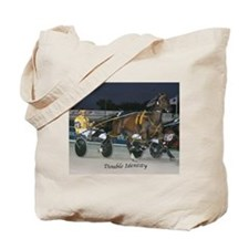 Funny Harness racing Tote Bag