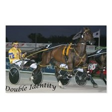 Funny Harness racing Postcards (Package of 8)