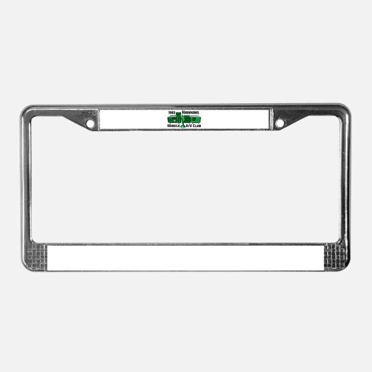 Cute Av License Plate Frame