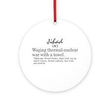 Jihad Ornament (Round)
