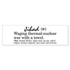 Jihad Bumper Bumper Sticker