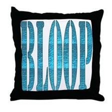 BLOOP Throw Pillow