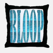 BLOOP Throw Pillow