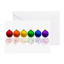 Tis the season to be gay Greeting Card