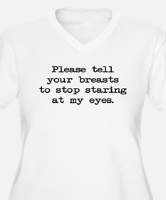 Please tell your breasts T-Shirt