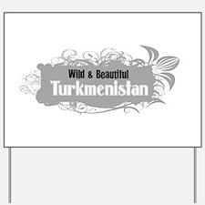 Cool Turkmenistan Yard Sign