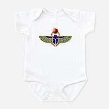 Winged Scarab Infant Bodysuit