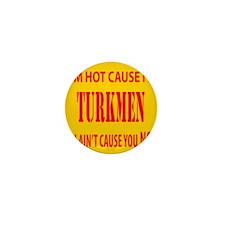 Hot Turkmen Mini Button