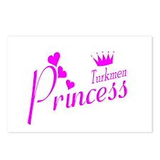 Turkmen Princess Postcards (Package of 8)