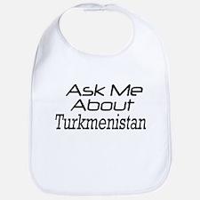 Ask me about Turkmenistan Bib