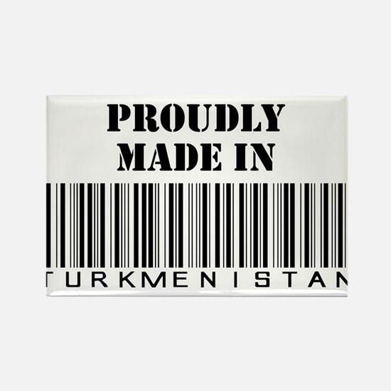 Proudly made in Turkmenistan Rectangle Magnet
