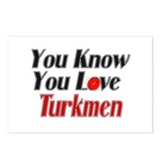 You know you love Turkmen Postcards (Package of 8)