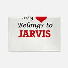 My Heart belongs to Jarvis Magnets