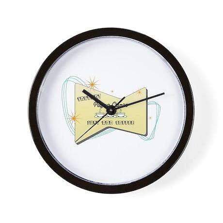 Instant Polymer Chemist Wall Clock