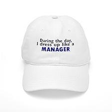 Dress Up Like A Manager Baseball Cap