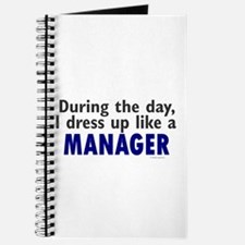 Dress Up Like A Manager Journal