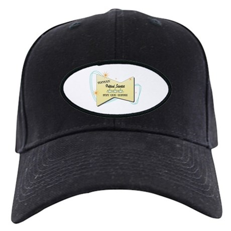 Instant Political Scientist Black Cap