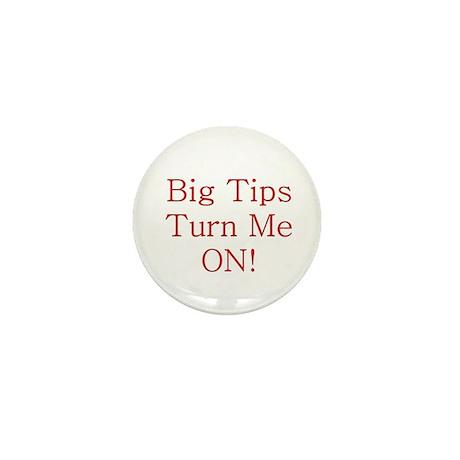 Big Tips Mini Button (10 pack)