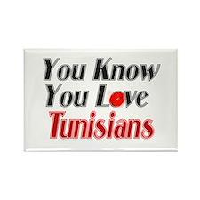 Unique Tunisia Rectangle Magnet
